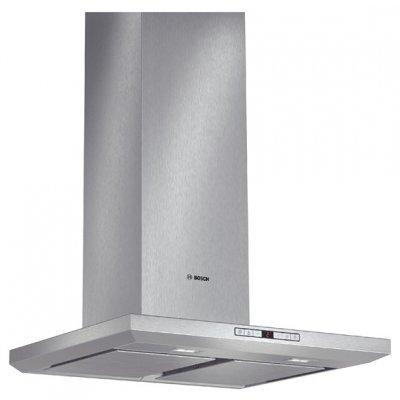 Вытяжка Bosch DWB068J50 (DWB068J50)Вытяжки Bosch<br>каминная вытяжка<br>    монтируется к стене<br>    отвод / циркуляция<br>    для стандартных кухонь<br>    ширина для установки 60 см<br>    мощность 166 Вт<br>    электронное управление<br>    дисплей<br>