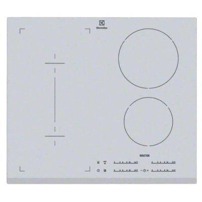 Электрическая варочная панель Electrolux EHI 96540 FS (EHI96540FS)Электрические варочные панели Electrolux<br>варочная поверхность электрическая стеклокерамическая поверхность индукционные конфорки конфорка с овальной зоной нагрева переключатели сенсорные защита от детей индикатор остаточного тепла независимая установка<br>