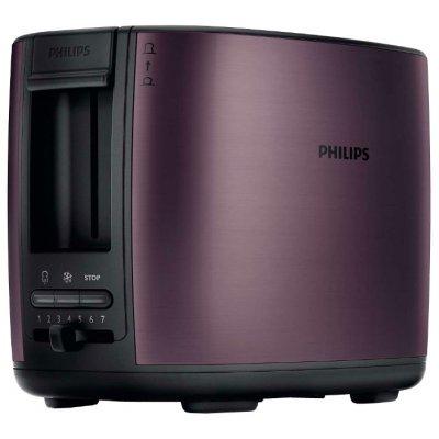 Тостер Philips HD 2628 (HD2628/90)Тостеры Philips<br>тостер<br>на 2 тоста<br>мощность 950 Вт<br>механическое управление<br>функция размораживания<br>