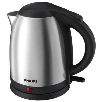 Электрический чайник Philips HD9306 (HD9306/02)Электрические чайники Philips<br>Чайник Philips/ 2200 Вт, 1.5 л, плоский нагревательный элемент, нерж.сталь<br>