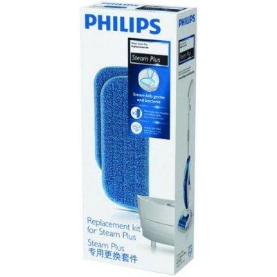 Фильтр для пылесоса Philips FC8056/01 (FC8056/01)Фильтры для пылесоса Philips<br>Аксессуары для паровых очистителей Philips/ Набор сменных аксессуаров для FC7020, 2 микрофибры, картридж от накипи<br>