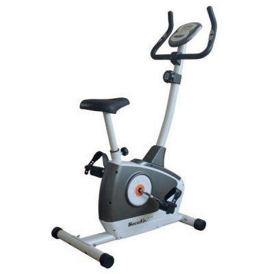 Велотренажер HouseFit HB-8242НР (НВ-8242НР)Велотренажеры HouseFit<br>вертикальный велотренажер автономная работа магнитная система нагрузки вес пользователя до 110 кг измерение пульса транспортировочные колеса вес тренажера: 23.5 кг<br>