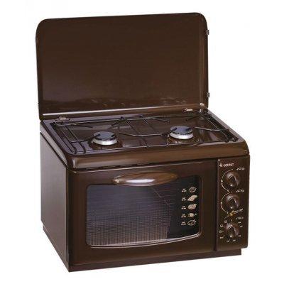Комбинированная плита Gefest ПГЭ 120 К19 (ПГЭ 120 К19 коричневый) gefest пгэ 120