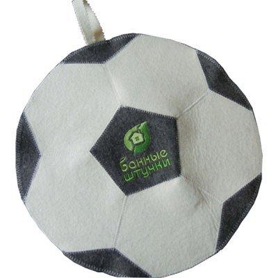 Коврик для сауны Банные штучки 40140 Футбольный мяч (40140)Коврики для сауны Банные штучки<br>Коврик для сауны Футбольный мяч Банные штучки / 20<br>