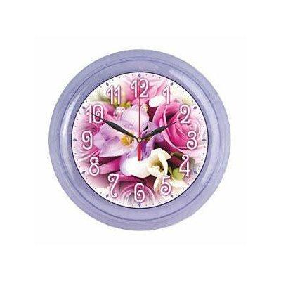 Часы настенные Вега П 6-13-99 Букет Роз (П 6-13-99)Часы настенные Вега <br><br>
