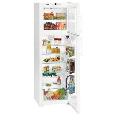 Холодильник Liebherr CTN 3663-21 001 (CTN 3663-21 001)Холодильники Liebherr<br>холодильник с морозильником отдельно стоящий двухкамерный класс A++ морозильник сверху общий объем 310 л ручка с толкателем капельная система<br>