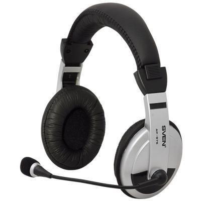 Наушники SVEN АР-875 (SV-0410875) гарнитура sven ap 940mv наушники 18 – 20000 микрофон 30 – 16000 1 2м черно белые