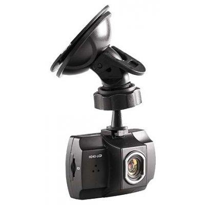 Видеорегистратор Sho-Me HD45-LCD (HD45-LCD)Видеорегистраторы Sho-Me<br>Конструкция видеорегистратора<br><br>    с камерой, с экраном <br><br>Количество каналов записи видео/звука<br><br>    1/1 <br><br>Поддержка HD<br><br>    1080p <br><br>Запись видео<br><br>    1920x1080  <br><br>Режим записи<br><br>    циклическая, запись без разрывов <br><br>Функции<br><br>    датчик удара (G-сенсор), детектор движения в кадре <br><br>Запись<br>    времен ...<br>