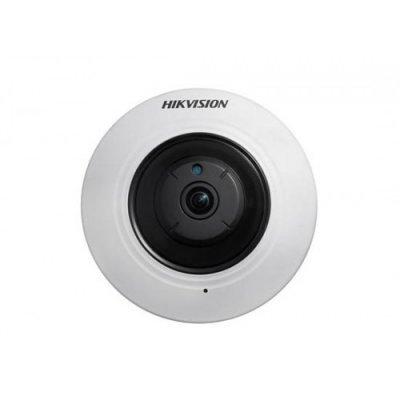 Камера видеонаблюдения Hikvision DS-2CD2942F (DS-2CD2942F)Камеры видеонаблюдения Hikvision<br>Купольная миниатюрная панорамная IP видеокамера Fish Eye с разрешением до 4Мп DS-2CD2942F Миниатюрная IP-камера разрешения 4 Мп с объективом Fish-eye DS-2CD2942F предназначается для систем, в которых необходимо снять максимально возможную территорию<br>