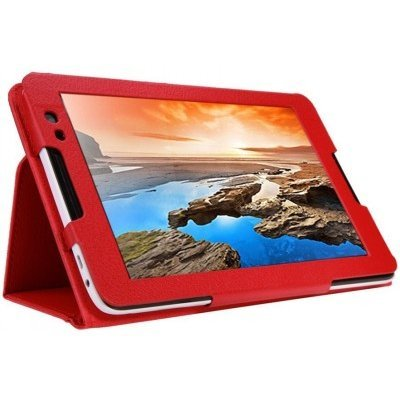 Чехол для планшета IT Baggage ITLNA5502-3 для IdeaTab 2 A8-50 (A5500) 8 красный (ITLNA5502-3) чехол для lenovo ideatab a5500 a8 50 g case executive эко кожа белый