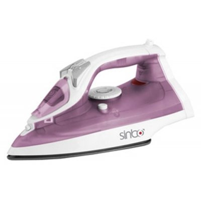 Утюг Sinbo SSI 2871 фиолетовый (SSI 2871 фиолетовый)Утюги Sinbo<br>пароувлажнение; мощность: 2000Вт; емкость для воды: 250мл; подошва: керамическая; самоочистка отнакипи; цвет: фиолетовый<br>