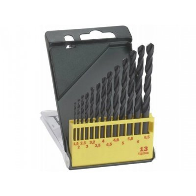 Набор принадлежностей Bosch 2607019441 (2607019441)Наборы принадлежностей Bosch<br>Назначение: по металлу. Особенности: 13 сверел по металлу, 1,5х40 мм, 2,0х49 мм, 2,5х57 мм, 3,0х61 мм , 3,2х65 мм, 3,5х70 мм, 4,0х75 мм , 4,5х80 мм, 4,8х86 мм, 5,0х86 мм, 5,5х93 мм, 6,0х93 мм, 6,5х101 мм.<br>