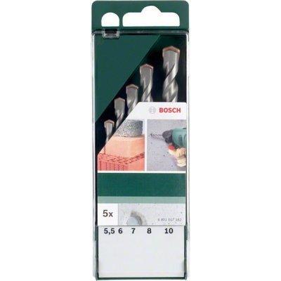 Набор принадлежностей Bosch 2609255417 (2609255417)Наборы принадлежностей Bosch<br>Назначение: по бетону. Хвостовик сверла: прямой. Особенности: В набор входят сверла: 5.0x85мм, 6.0x100мм, 6.0x100мм, 8.0x120мм, 10.0x120мм.<br>