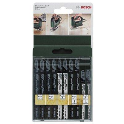 Подробнее о Пилка для лобзика Bosch 2609256744 (2609256744) набор полотен для стационарного лобзика