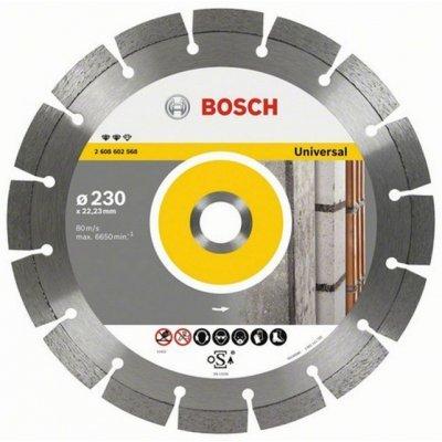 Диск для болгарки Bosch 2608602195 (2608602195)Пильные диски Bosch<br>Алмазный отрезной круг BOSCH Standard for Universal 2608602195<br>Предназначен для обработки любых стройматериалов<br>Особенности:<br>Лазерная сварка алмазных режущих сегментов<br>Высота сегмента 10 мм<br>