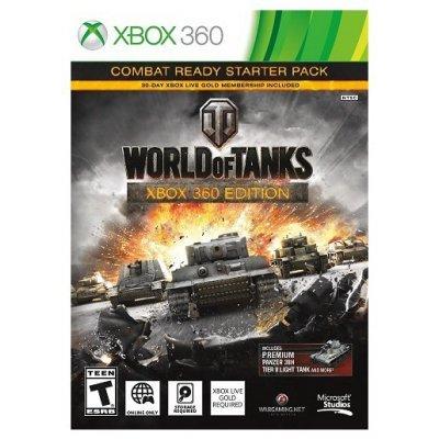Игра для игровой консоли World of Tanks (4ZP-00018)Игры для игровых консолей Microsoft<br>World of Tanks не нуждается в лишнем представлении – один из самых популярных сетевых боевиков стал культовым по всему миру. Многие владельцы персональных компьютеров включились в бои на бронетехнике, но теперь опробовать себя в качестве командира боевого экипажа смогут владельцы приставки Xbox 360. ...<br>