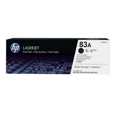 Тонер-картридж для лазерных аппаратов HP для LaserJet Pro MFP M125nw, MFP M127fw (3000стр.) (CF283AD) (CF283AD) for hp 283 cf283a toner powder and chip for hp laserjet pro mfp m125 m127fn m127fw laser printer free shipping hot sale