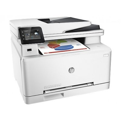 Цветной лазерный МФУ HP Color LaserJet Pro MFP M277dw (B3Q11A#B19) (B3Q11A)Цветные лазерные МФУ HP<br>HP Color LaserJet Pro MFP M277dw (p/c/s/f, 600x600dpi, ImageREt3600, 18(18) ppm, 256Mb, ADF35 sheets,2 trays150+1, duplex, PS, USB/LAN/ext.USB, 1y warr, Cartridges 1500 b &amp;amp;700 cmy pages in box, repl.<br>