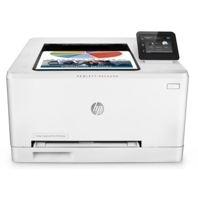 Цветной лазерный принтер HP Color LaserJet Pro M252dw (B4A22A) (B4A22A#B19)Цветные лазерные принтеры HP<br>HP Color LaserJet Pro M252dw (A4, 600x600dpi, 18(18) ppm, 256Mb, 2 trays 1+150, 1y warr, touch LCD, duplex, Cartridges 1500 b &amp;amp;700 cmy pages in box, USB/LAN/front USB, repl. CF147A)<br>