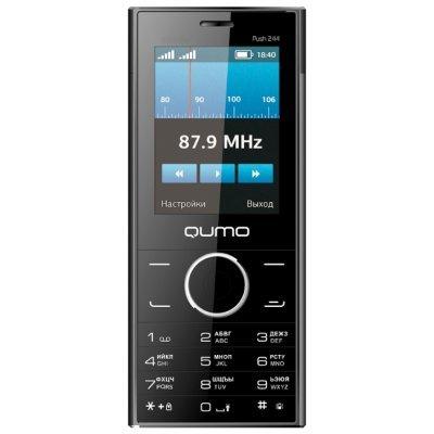Мобильный телефон QUMO Push 244 Slim (Push 244 Slim)Мобильные телефоны QUMO <br><br>