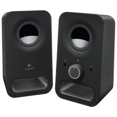 Компьютерная акустика Logitech Z150 Midnight Black (980-000814) (980-000814)Компьютерная акустика Logitech<br>Logitech Z150 Speakers Midnight Black<br>