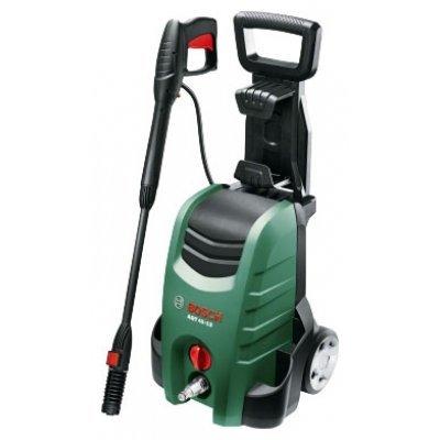Минимойка Bosch AQT 40-13 1900Вт (06008A7500) (06008A7500)Минимойки Bosch<br>Класс: бытовая <br>Давление: до 130 бар <br>Производительность: 400 л/час <br>Макс. температура воды на входе: 40 °С <br>Система защиты: автоматическое отключение <br>Насадки: стандартная <br>Шланг ВД: длина 6 м <br>Сетевой шнур: длина 5 м <br>Потребляемая мощность: 1.9 кВт·ч <br>Использование моющего средства: да   ...<br>