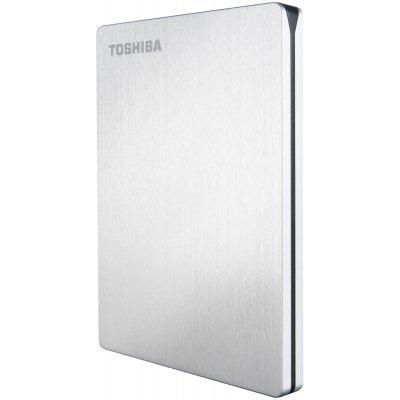 Внешний жесткий диск Toshiba 1000GB HDTD210ESMEA (HDTD210ESMEA)Внешние жесткие диски Toshiba<br>Внешний жесткий диск TOSHIBA HDTD210ESMEA STOR.E SLIM for MAC 1000GB 2,5 USB3.0 Silver external<br>