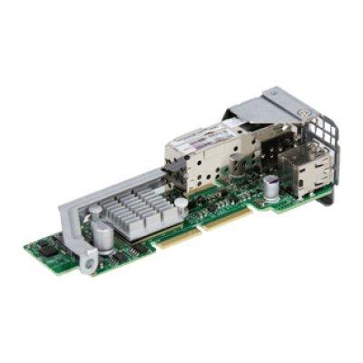 Плата расширения SuperMicro AOC-CTG-I2S (AOC-CTG-I2S)Платы расширения SuperMicro<br>SuperMicro AOC-CTG-I2S MicroLP 2-port 10GbE SFP+ adapter with Intel 82599ES<br>