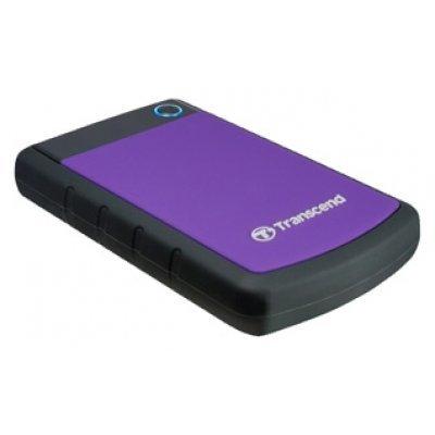 Внешний жесткий диск Transcend TS2TSJ25H3P 2Tb (TS2TSJ25H3P)Внешние жесткие диски Transcend<br>внешний жесткий диск объем 2000 Гб интерфейс USB 3.0 вес 284 г<br>