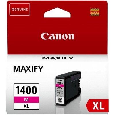 Картридж для струйных аппаратов Canon PGI-1400XL M для MAXIFY МВ2040 и МВ2340, пурпурный (9203B001) (9203B001) цена и фото