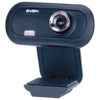 Веб-камера SVEN IC-950 HD (SV-0602IC950HD)Веб-камеры SVEN<br>веб-камера с матрицей 0.9 МП<br>    разрешение видео 1280x720<br>    подключение через USB 2.0<br>    встроенный микрофон<br>    ручная фокусировка<br>    совместима с Windows<br>