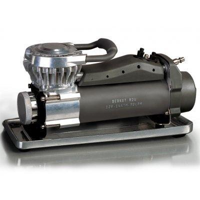 Автомобильный компрессор Berkut R24 (R24)Автомобильные компрессоры Berkut<br>давление: 14атм.; производительность: 98л/мин; время непрерывной работы: 60мин<br>