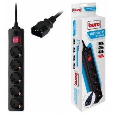 Сетевой фильтр Buro 500SH-1.8-UPS-B (500SH-1.8-UPS-B) сетевой фильтр buro 500sh 3 b 500sh 3 b