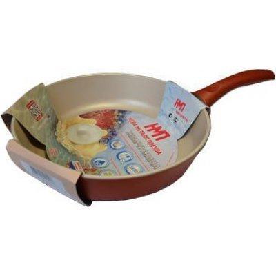 Сковорода Нева-Металл PC 124 24 см Коралл (PC 124) сковорода нева металл коралл