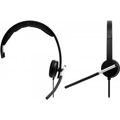 все цены на Компьютерная гарнитура Logitech USB Headset Mono H650e (981-000514) онлайн