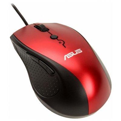 Мышь ASUS UT415 Red USB (90XB01K0-BMU030)Мыши ASUS<br>ASUS UT415 Optical Mouse (Red, USB, 6but+Roll, 90XB01K0-BMU030)<br>