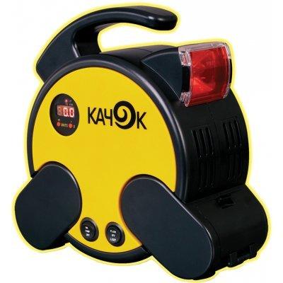 Автомобильный компрессор Качок K70 (K70)Автомобильные компрессоры Качок<br>Описание автомобильного компрессора Качок K70  Компрессор Качок К70 - это автомобильный компрессор, который легко и без особого труда поможет накачать спущенное колесо. Также можно накачать резиновую лодку, матрац, шину велосипеда и многое другое. В комплекте поставляются несколько переходников на р ...<br>
