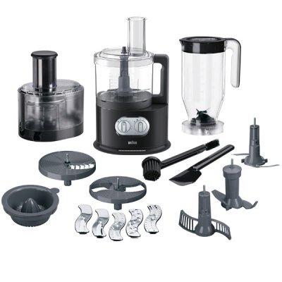 Кухонный комбайн Braun FP 5160 черный (FP 5160 BK)