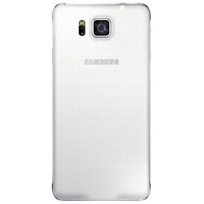 Чехол для смартфона Samsung для GALAXY Alpha G850, белый (EF-OG850SWEGRU)Чехлы для смартфонов Samsung<br>Для Samsung Galaxy Alpha. Белый. Поликарбонат.<br>