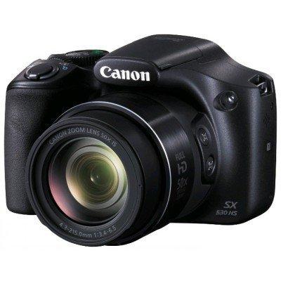Цифровая фотокамера Canon PowerShot SX530 HS черный (9779B002) цифровая фотокамера canon powershot sx720 hs 1071c002