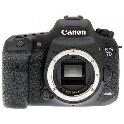 Цифровая фотокамера Canon EOS 7D Mark II body (9128B004)Цифровые фотокамеры Canon<br>EOS 7D Mark II без объектива, черный, 20Mpx CMOS, 1920x1080, экран 3.0&amp;amp;#039;&amp;amp;#039;, Li-ion<br>
