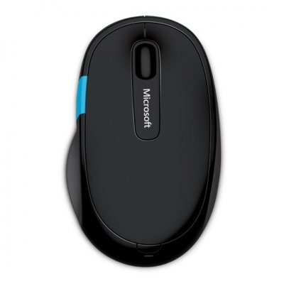 Мышь Microsoft Sculpt Comfort Mouse Black Bluetooth (H3S-00002)Мыши Microsoft<br>(H3S-00002) Мышь Microsoft Sculpt Comfort Mouse Win7/8 Bluetooth EN/AR/CS/NL/FR/EL/IT/PT/RU/ES/UK EF<br>
