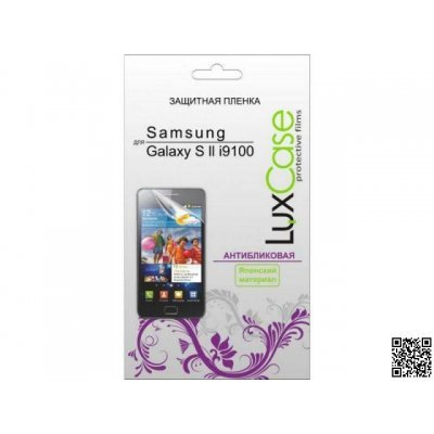 ������ �������� ��� ���������� LuxCase Samsung Galaxy S II i9100 (������������) (80502)