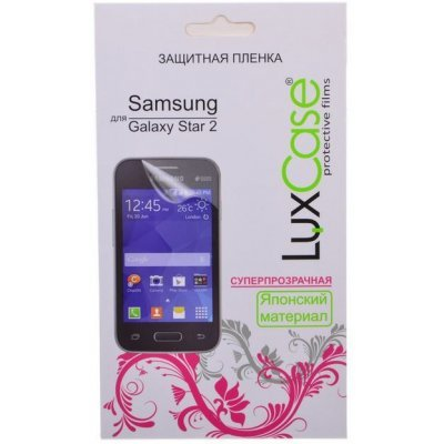 Пленка защитная для смартфонов LuxCase для Samsung Galaxy star 2 (антибликовая) (52513)