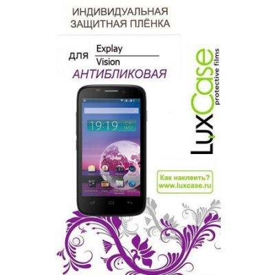 Пленка защитная для смартфонов LuxCase для Explay Vision Антибликовая (50403)Пленки защитные для смартфонов LuxCase<br><br>