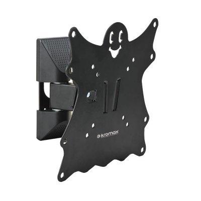 Кронштейн для ТВ и панелей Kromax CASPER-202 15-40 черный (CASPER-202)Кронштейн для ТВ и панелей Kromax<br>black, для LED/LCD TV 15-40, max 30 кг, 3 ст свободы, наклон +5°-15°,<br>