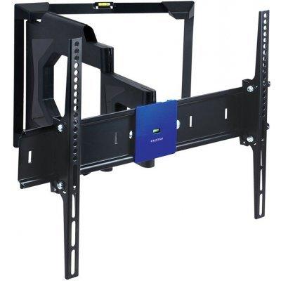 Кронштейн для ТВ и панелей Kromax LEDAS-80 (LEDAS-80)Кронштейн для ТВ и панелей Kromax<br>Кронштейн Kromax LEDAS-80 black для LED/LCD ТV 15-40,  45 кг, настенный, 4 ст свободы, наклон ±12°<br>