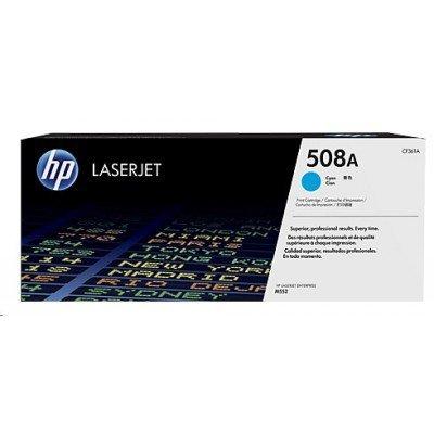 Тонер-картридж для лазерных аппаратов HP CF361A 508A синий (CF361A)Тонер-картриджи для лазерных аппаратов HP<br>Kартридж Hewlett-Packard HP 508A Cyan Original LaserJet Toner Cartridge (CF361A)<br>