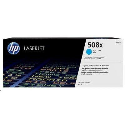 Тонер-картридж для лазерных аппаратов HP CF361X 508X синий (CF361X)Тонер-картриджи для лазерных аппаратов HP<br>508X High Yield Cyan Original LaserJet Toner Cartridge<br>