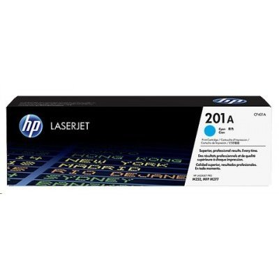 Тонер-картридж для лазерных аппаратов HP CF401A 201A синий (CF401A) toner reset chip for hp colour laserjet pro m252dw m252n mfp m277dw m277n printer cartridge 201a cf400a cf401a cf402a cf403a